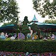 Alice in Wonderland Topiary