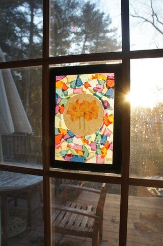 Stained glass cross 7