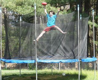 Jack in trampoline