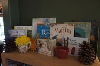 January nature shelf