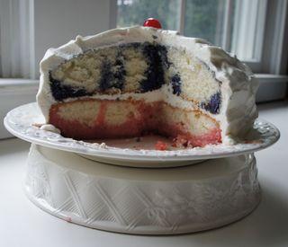 Jello poke cake 1