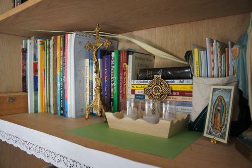 Liturgical shelf 1