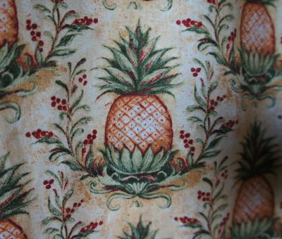 Pineapple curtains 1