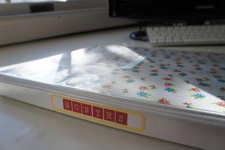 Monthly binder