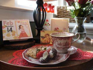 Valentine tea 1