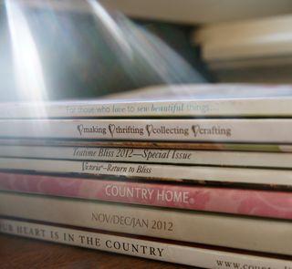 Tea & magazines 1
