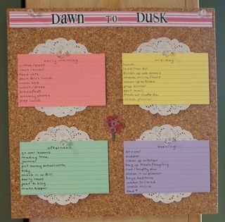 Dawn to dusk board 2