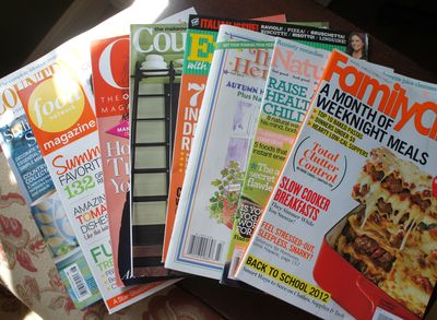 Orange-green magazines