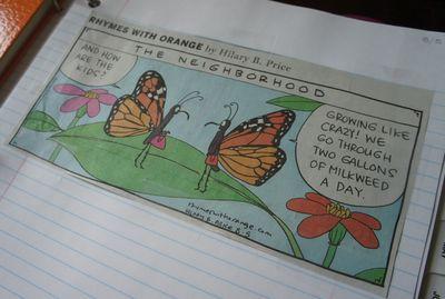 Monarch comic strip