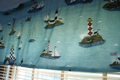 Lighthouse curtains