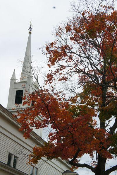 Autumn Steeple