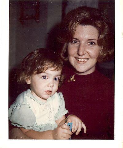 Mum and me 1970