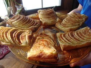 Maple apple tartlets