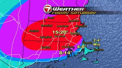 Snow map updated