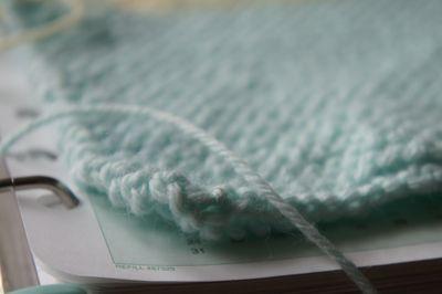Knitting progress 2
