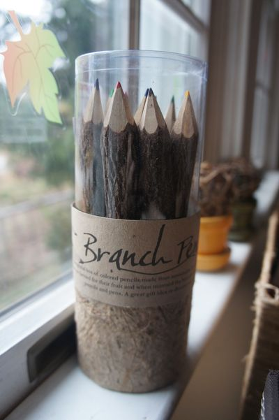 Bark pencils 1