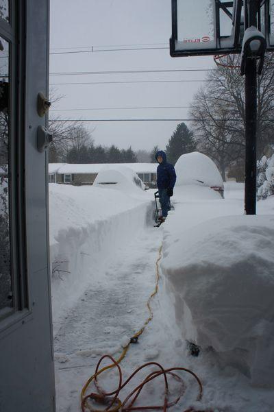 Blizzard morning 2