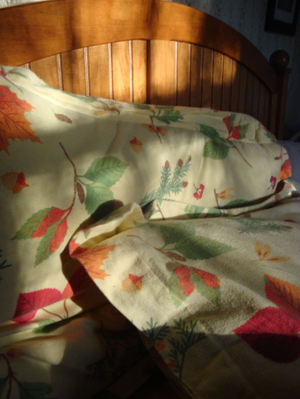 Autumn bedding