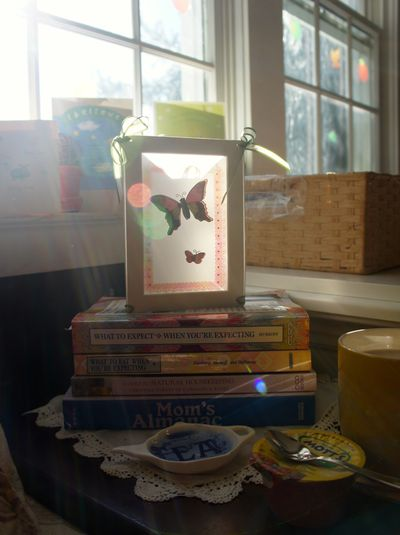 Tea and baby books 2
