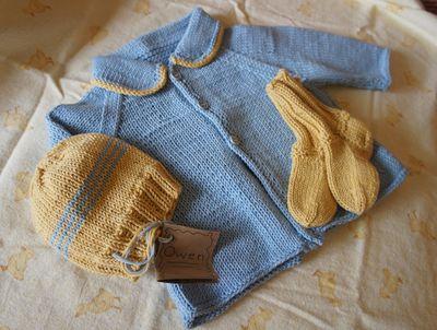 Baby knit set 1