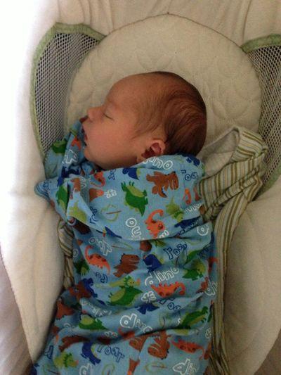 Owen sleeping