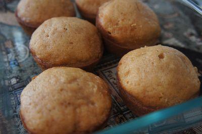 Pear muffins 1