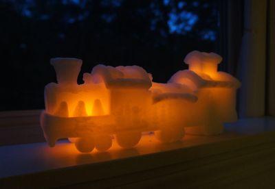 Train candle 1