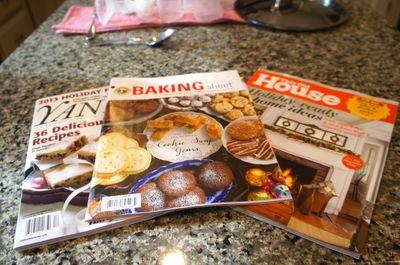 Yankee + magazines