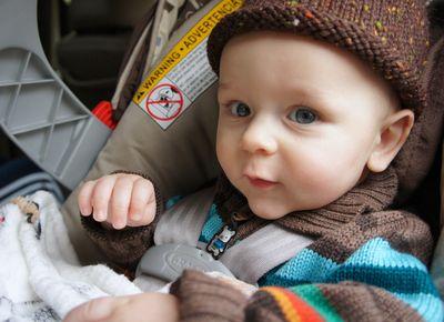 Owen car ride 1
