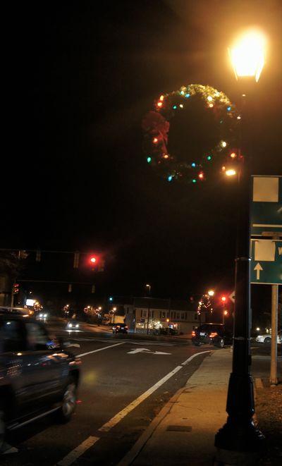 Advent city lights