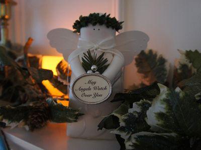 Advent peace angel