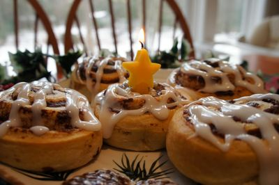 Advent joy saint lucia buns