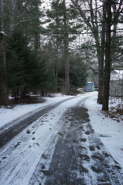 Advent peace driveway
