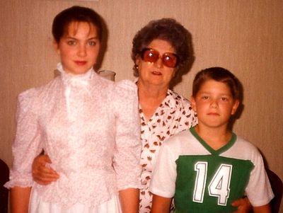 Gram, matt and me
