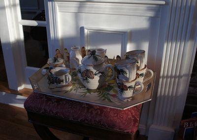 Winter tea set