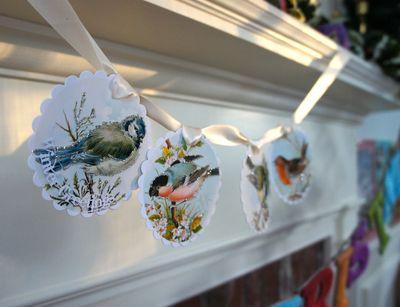 Bird garland]
