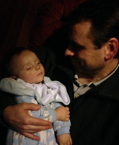 O and daddy sleep