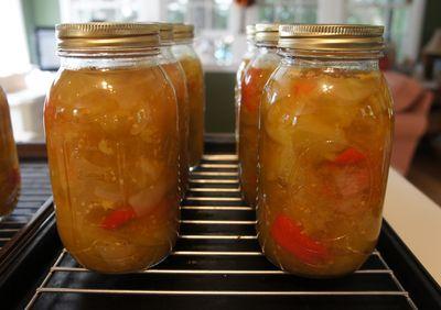 Picalilli jars