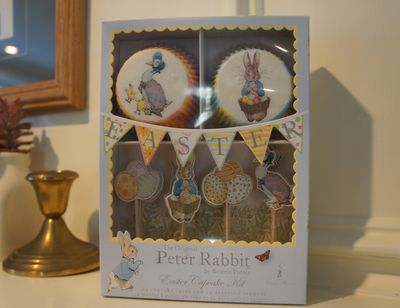 Peter rabbit baking decorations