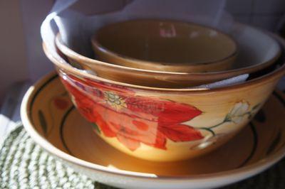 Advent joy bowls