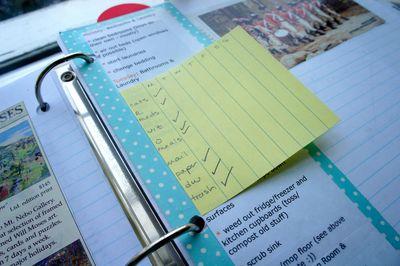 Daily tasks pagemarker