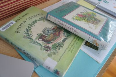 Kitchen garden and herb books