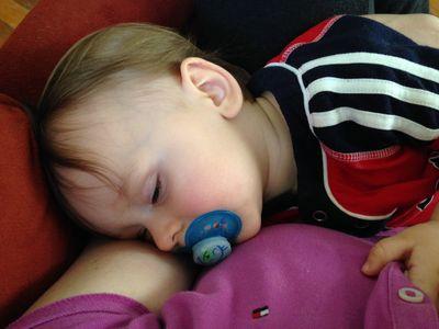 O sleeping in my arms