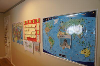 Homeschool wall 1