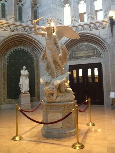 Michael statue