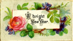 Vintage bright-new-year