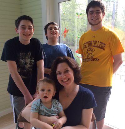 Mama and boys 5