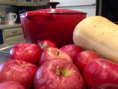 Apples for applesauce