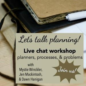 Planning talk graphic
