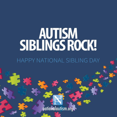 Autism siblings rock